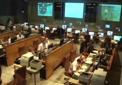 Salle de contrôle Proteus du CNES, à Toulouse. Crédits : CNES.