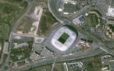 Le Stade Pierre-Mauroy de Lille: toit ouvert