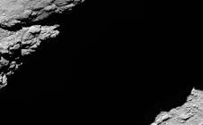 Image de la sonde Rosetta à 1,2km de la comète Tchoury