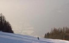 Les particules fines émises par les transport, le chauffage et l'industrie polluent la vallée de l'Arve au pied du Mont-