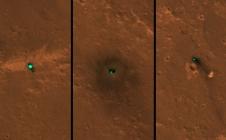 [InSight] Les 1eres images satellite de l'atterrissage