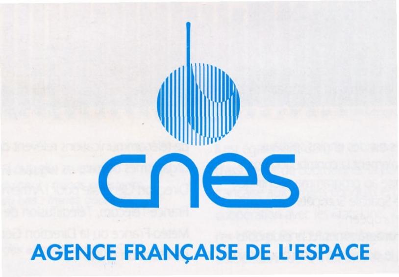 Logo du CNES 1992 - 1994