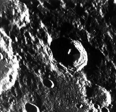 Mercury's surface. Crédits : NASA