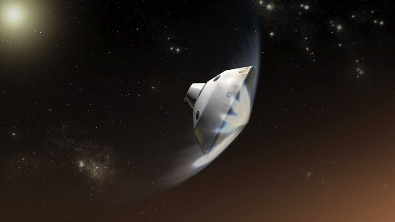 Curiosity spacecraft. Credits: NASA/JPL-Caltech.