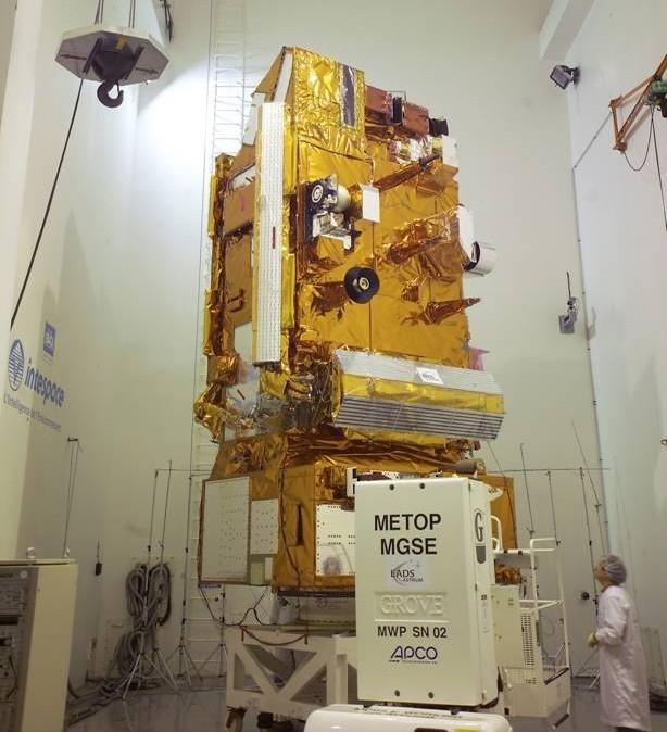 Satellite MetOp-A; credits Alcatel Alenia Space