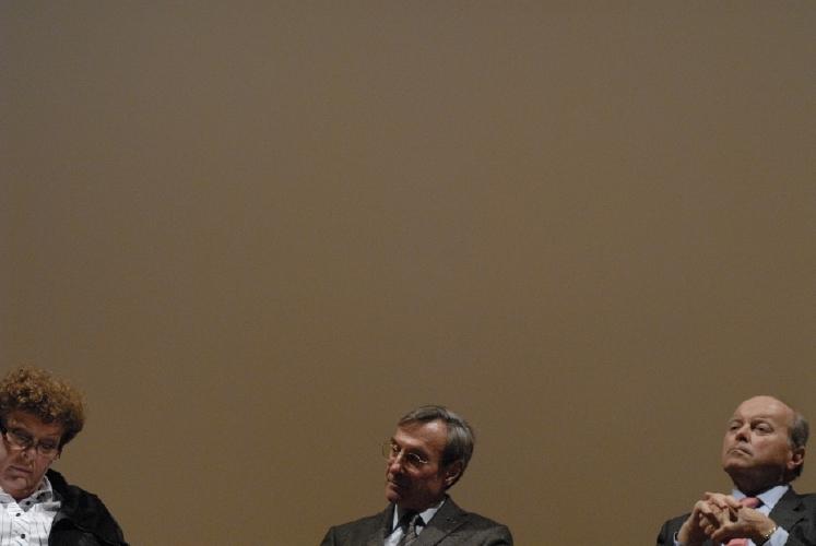 Yannick d'Escatha et Jacques Toubon. Crédits : CNES/C. Urbain.